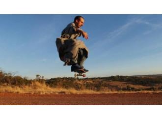 Gabriel, il Francescano dell'Immacolata con lo skateboard