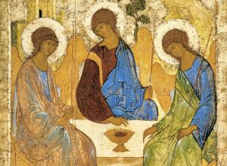 Trinità di Rublëv, a simbolo dell'unità con la Chiesa