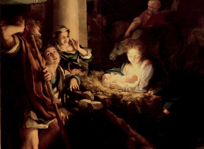 Adorazione dei pastori (la notte), il Correggio