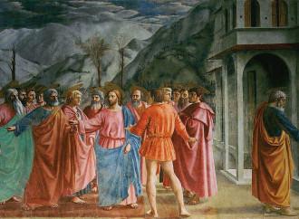 La forza di Pietro che fissa lo sguardo su Cristo