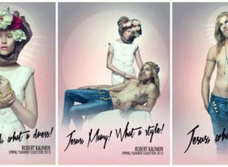 Gesù in jeans è ok, ma non se è in croce