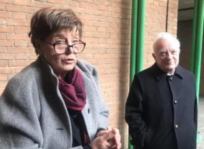 Silvana De Mari con il suo legale Mauro Ronco