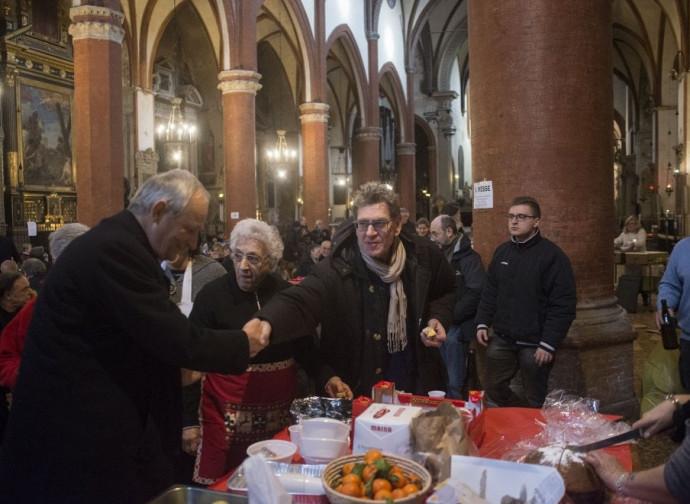 L'Arcivescovo Zuppi nella chiesa dei Servi il 22 dicembre