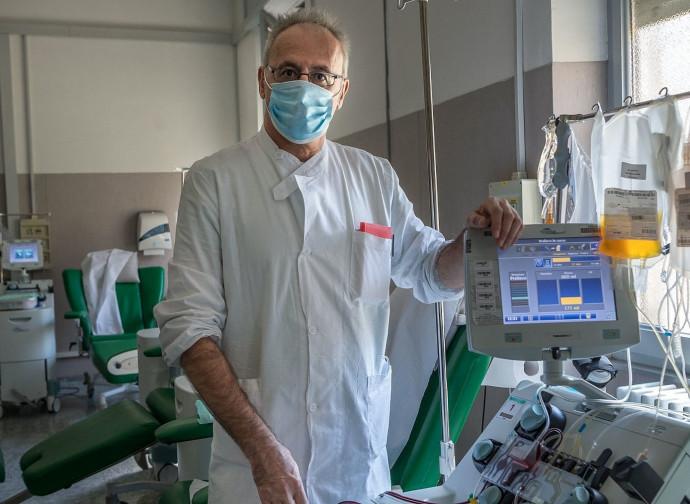 Il prof Cesare Perotti