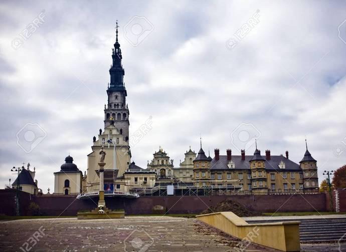 Il santuario di Jasna Gora a Czestochowa
