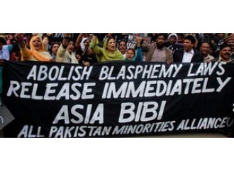 Mercoledì una speciale giornata mondiale di preghiera per Asia Bibi