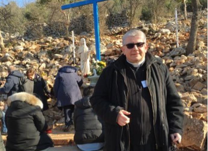 Don Alfredo Morselli, parroco nel bolognese