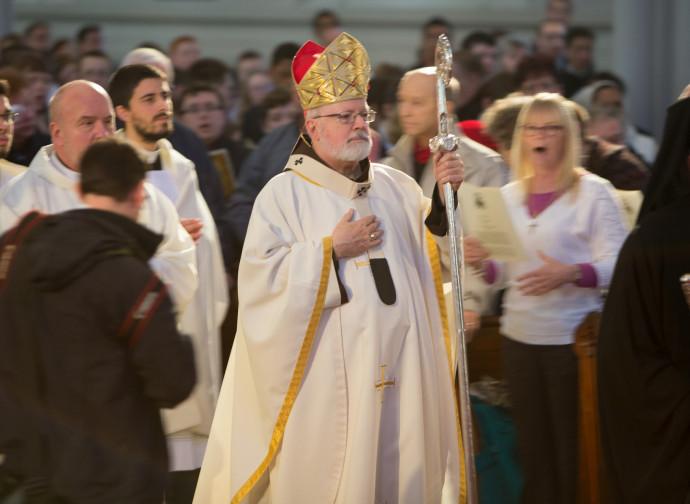 Il cardinale Sean O'Malley