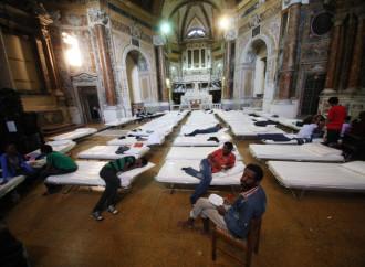 Proclama immigrazionista a Messa, preti laziali coscritti