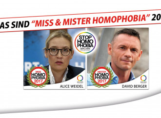 Germania: Mr e Miss Homophobia sono due gay