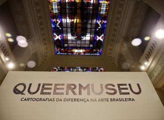 Brasile, mostra omoblasfema