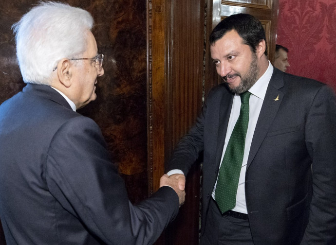 Salvini Mattarella