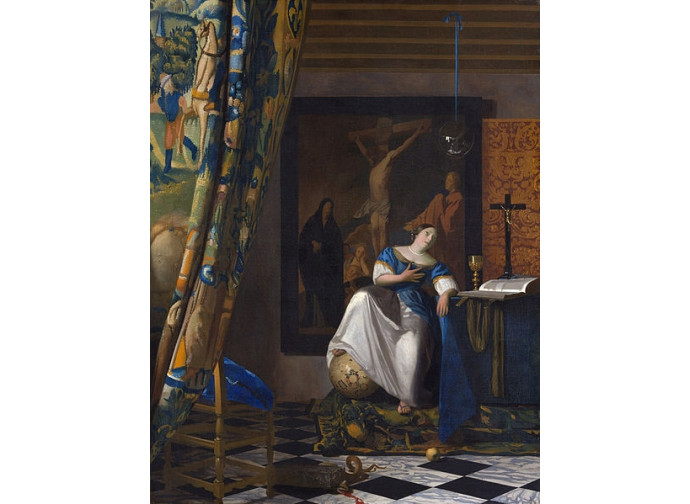 Allegoria della fede cattolica Vermeer