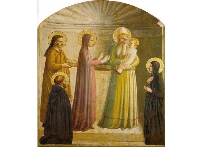 Presentazione di Gesù_Beato Angelico