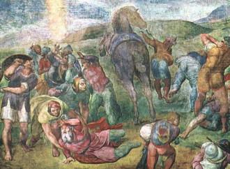 San Paolo, Michelangelo si interroga sulla conversione