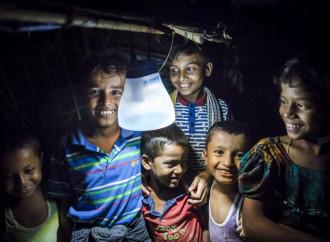 Energia sostenibile per i profughi
