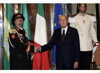 Quando Napolitano ascoltava il grido di dolore