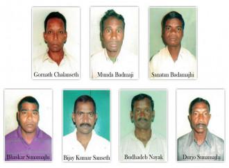 I 7 cristiani innocenti, prigionieri dei fanatici indù