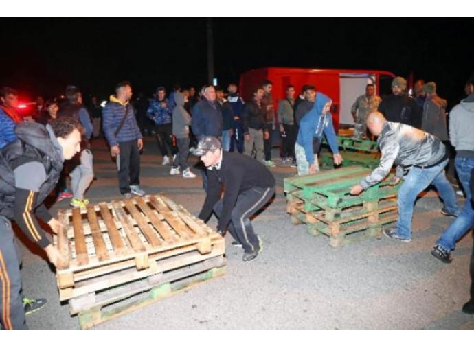 La rivolta dei cittadini di Gorino