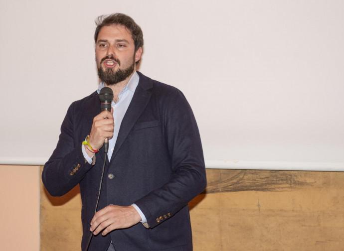 L'assessore Maurizio Marrone