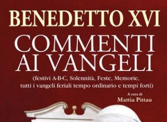 I commenti al Vangelo di Benedetto XVI svelano la vita