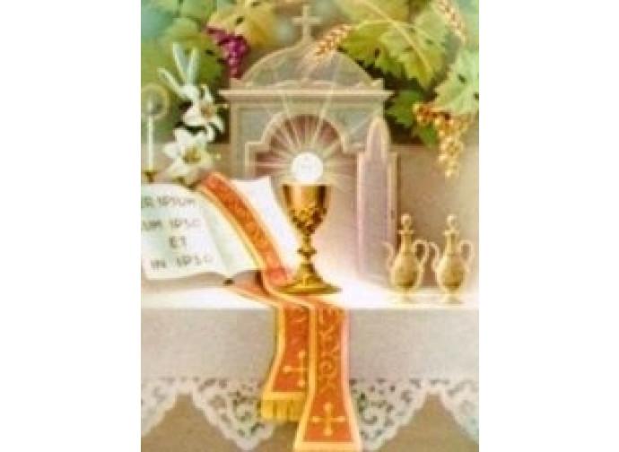 L'adorazione dell'Eucarestia