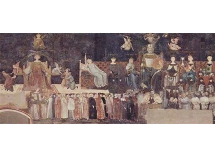 Ambrogio Lorenzetti - Allegoria del Buon Governo