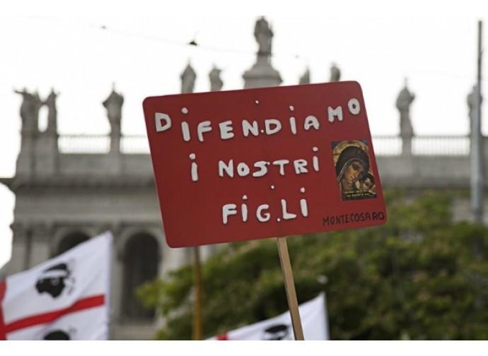 I nuovo Family Day sabato 30 gennaio alle 14 in piazza san Giovanni a Roma