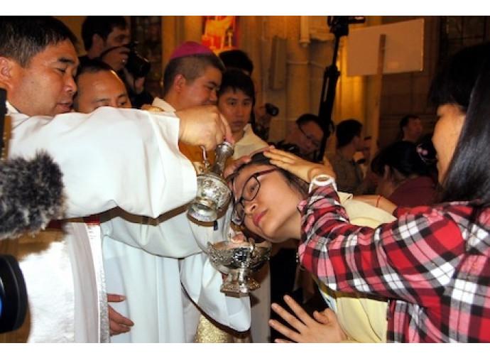 Battesimo in Cina