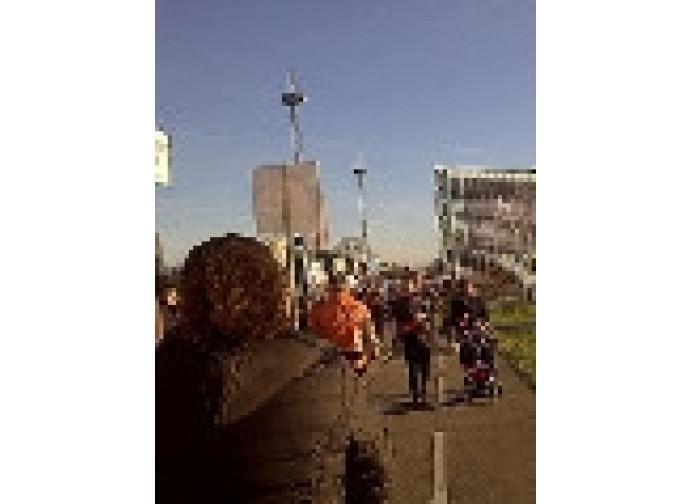 Manifestazione contro Estrela