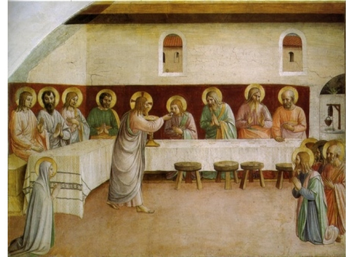 Beato Angelico  Ultima Cena