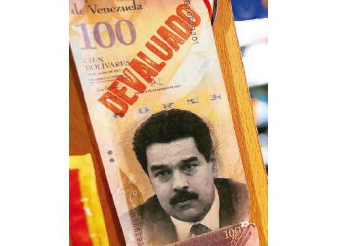 Bolivares svalutati