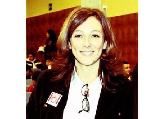 Paola Brodoloni, fondatrice e presidente di Cuore e Parole Onlus