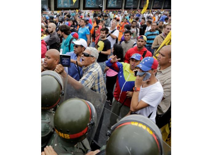 Protesta a Caracas