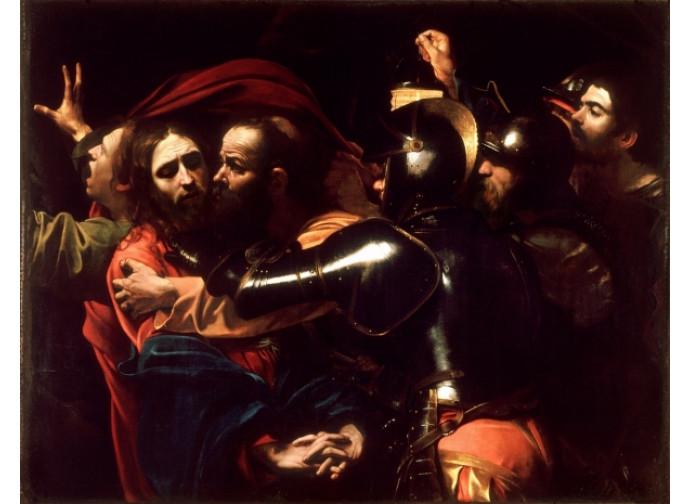 """Caravaggio, """"Cattura di Cristo"""""""