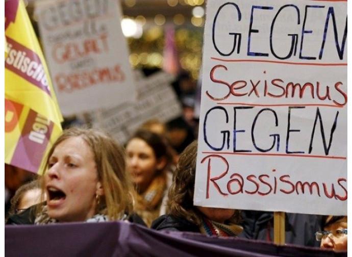 Manifestazione a Colonia, dopo lo shock