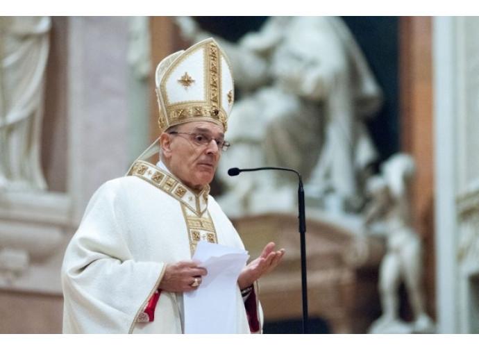 Il vescovo di Reggio Massimo Camisasca