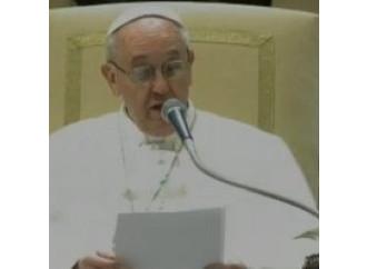 Dal Papa una carezza  (e una lezione)  ai giornalisti