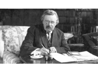 """G.K. Chesterton sarebbe un santo """"rivoluzionario"""""""
