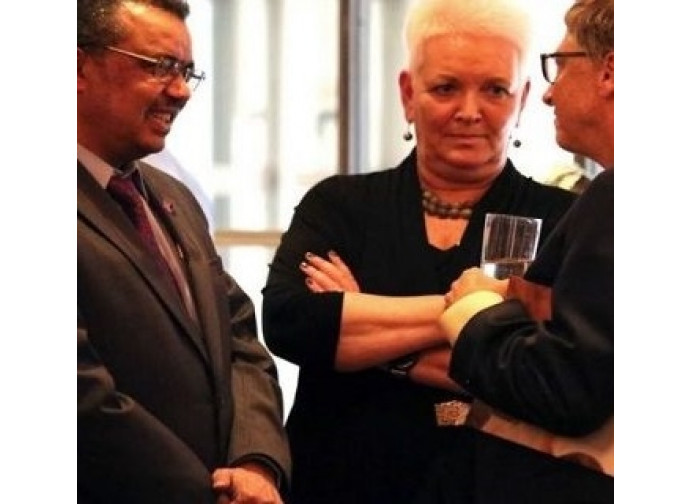 Tedros Adhanom con Bill Gates