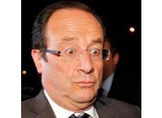 """Hollande e l'""""incubo"""" dei due elefanti"""
