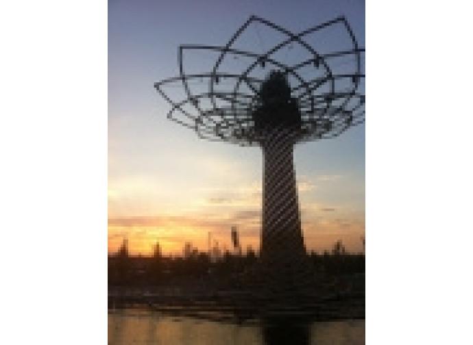 L'Albero della Vita, simbolo di Expo 2015