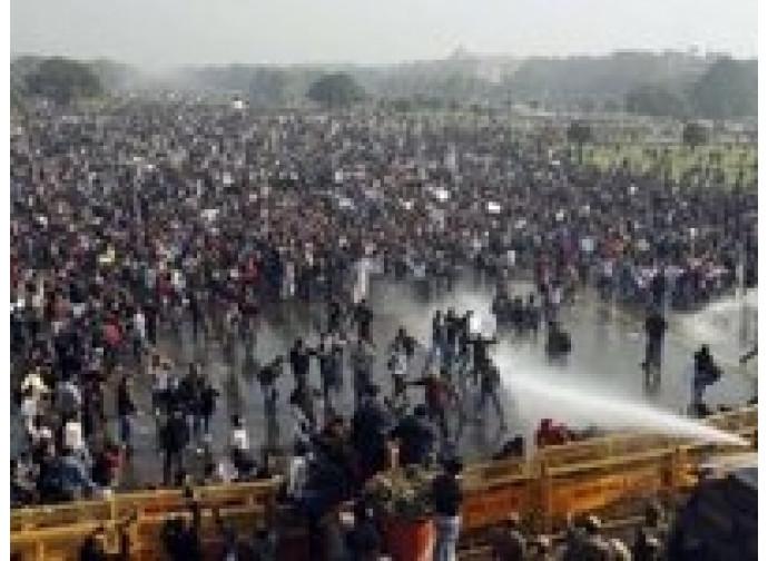 Le proteste in India