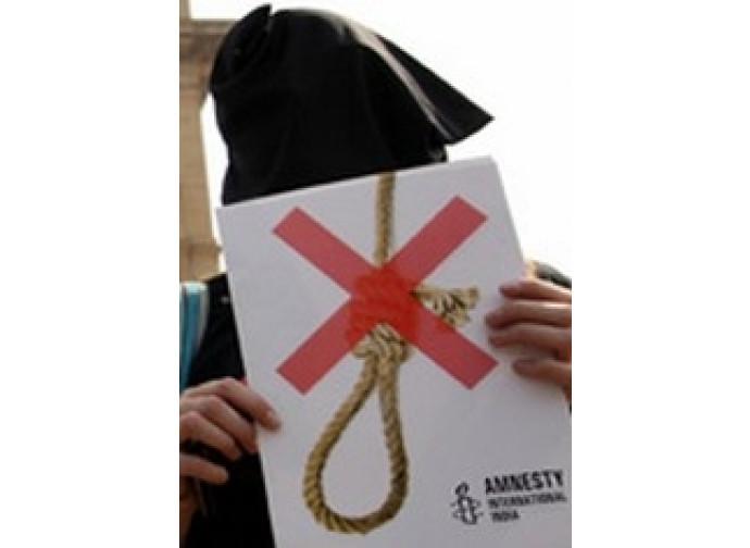 India, pena di morte