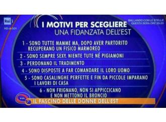 Donne e tv, il solito doppiopesismo italico