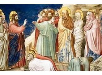 Khalil Gibran con Lazzaro al cospetto del Risorto
