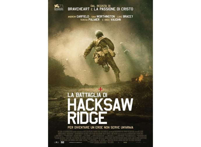 Hacksaw Ridge, la locandina