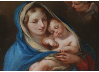 La pace viene dal guardare la Madre Di Dio