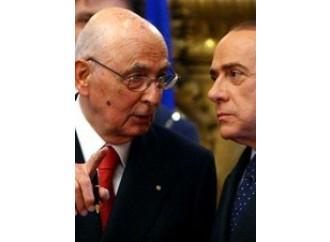 Bombardamenti e governo, Napolitano salva tutto