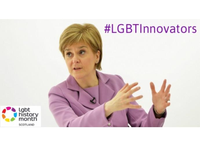 Nicola Sturgeon premiata dal movimento Lgbt